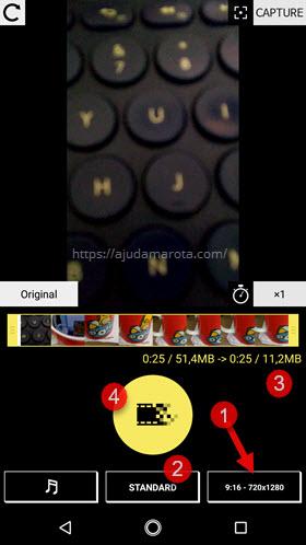 Comprimir reduzir tamanho vídeo Android VideoDieter2