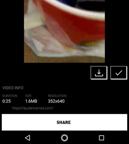Como diminuir o tamanho de um vídeo no Android