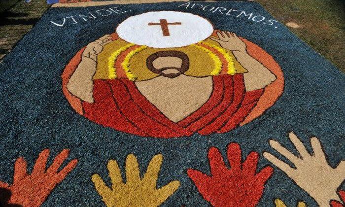Tapetes de Corpus Christi