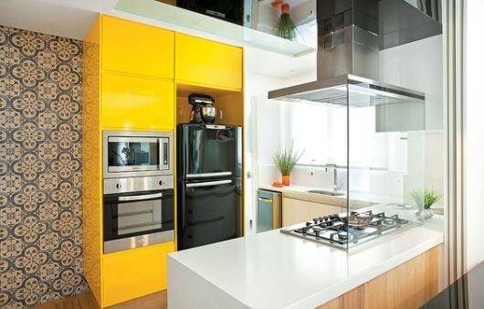 Cozinhas Planejadas pequenas para inspiração