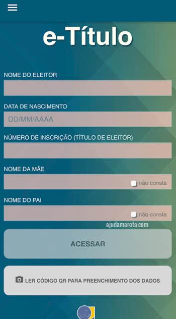 Baixar e-título título de eleitor no celular e cadastrar