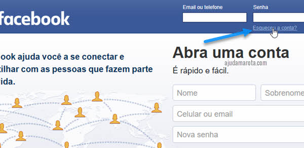 Como recuperar a senha do Facebook pelo PC ou celular