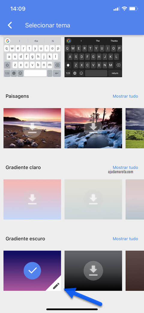 Como modificar o tema do Gboard no Android e iPhone