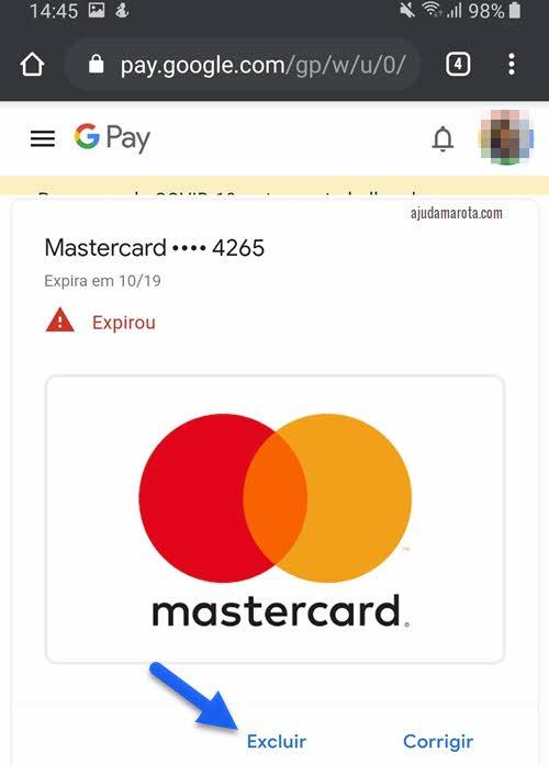 Como apagar o cartão de crédito da Google Play pelo Android