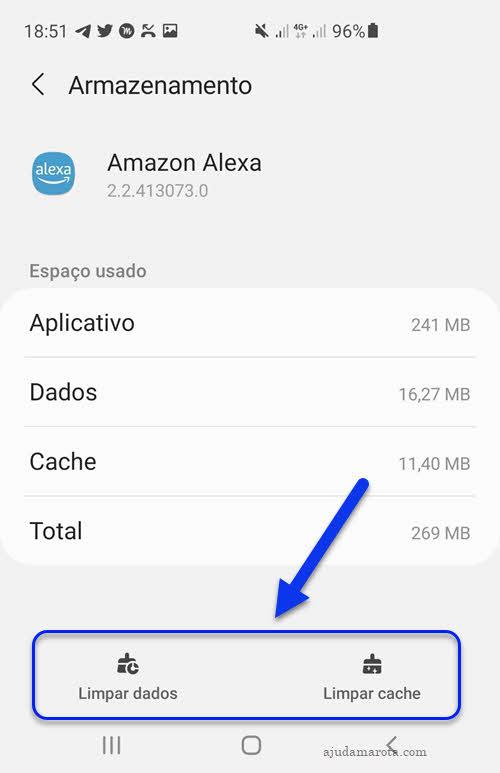 Como limpar cache e dados de apps no Android